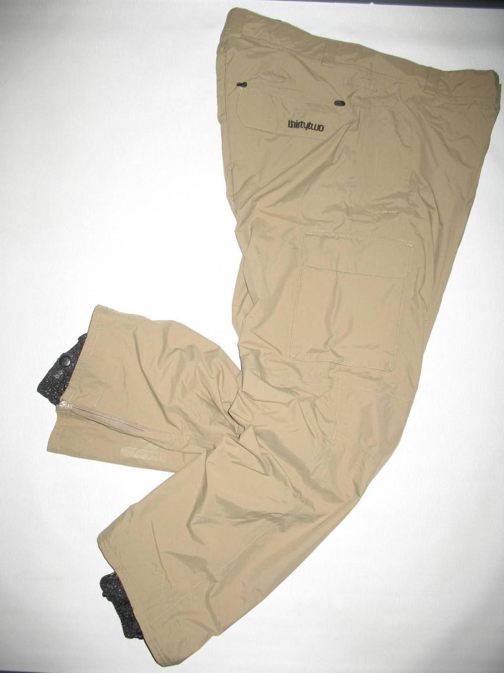 Штаны 32THIRTYTWO shilooh snowboard pants (размер XL) - 1