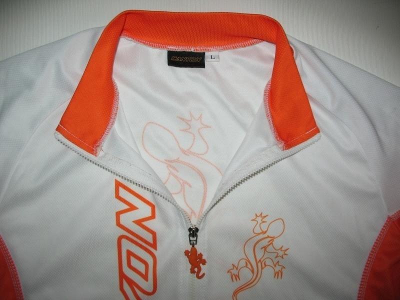 Футболка CANYON white jersey  (размер L) - 2