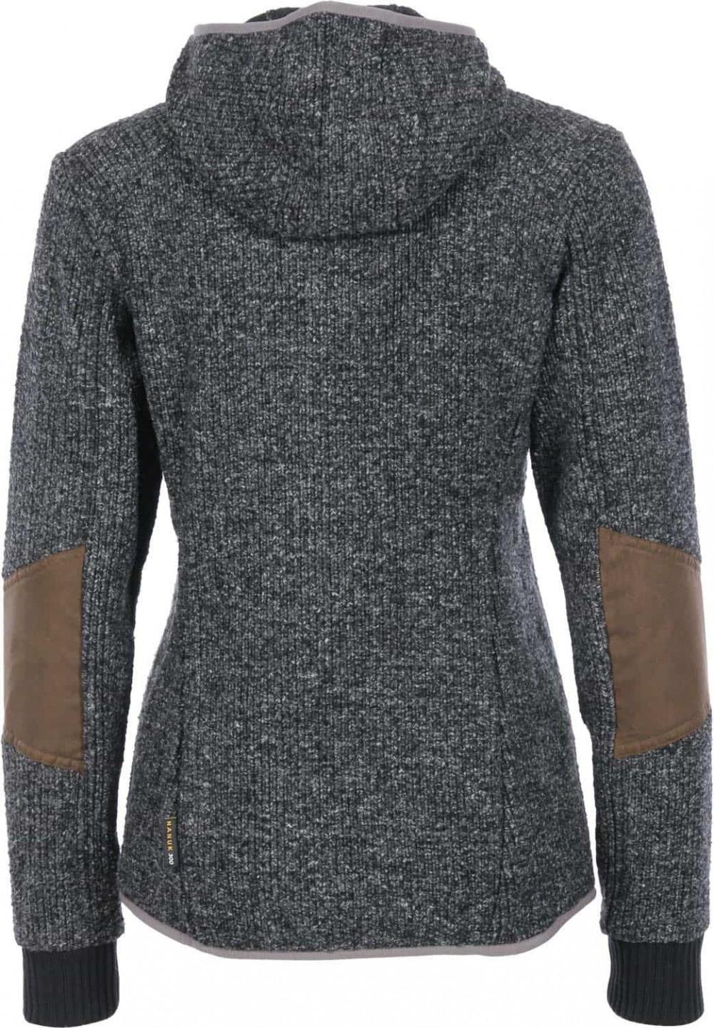 Кофта JACK WOLFSKIN milton fleece hoodie lady (размер 40-M/L) - 2