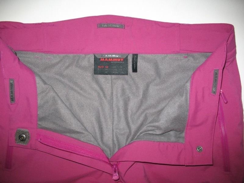 Штаны  MAMMUT  20/20 pants lady  (размер L/XL) - 4