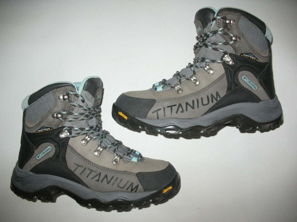 Ботинки COLUMBIA  titanium daska pass boots lady (размер US8/UK6/EU39(на стопу 245 mm)) - 7