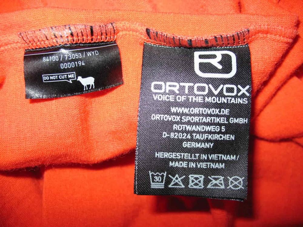 Футболка ORTOVOX rock'n'wool short sleeve jersey (размер М) - 5