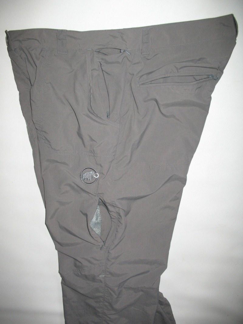 Штаны MAMMUT hose lang hiking pants lady (размер L/XL) - 8