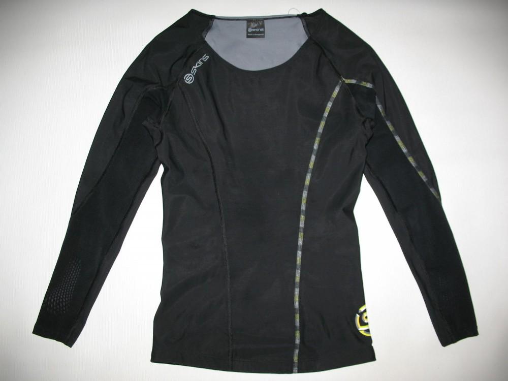 Футболка SKINS DNAmic compression long sleeve top lady (размер M) - 1