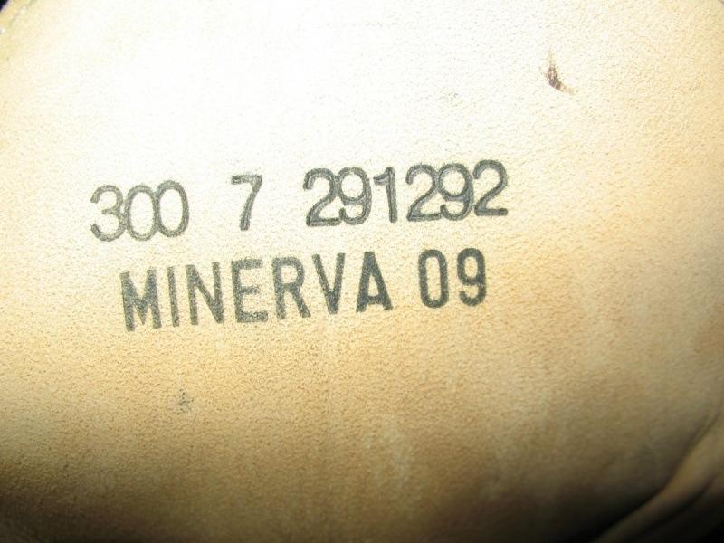 Ботинки MINERVA army boots  (размер UK11/EU46(295-300mm)) - 12