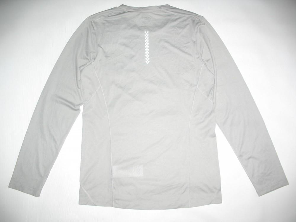 Футболка ASICS elite ls jersey (размер M) - 2
