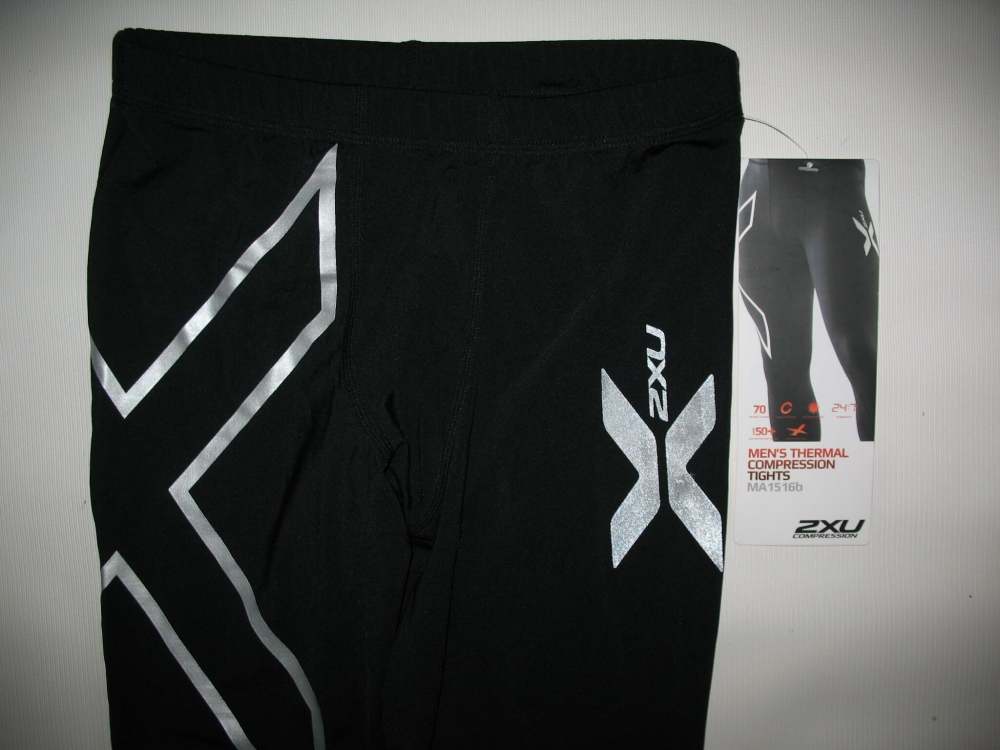 Штаны  2XU thermal compression tights unisex (размер XS) - 6