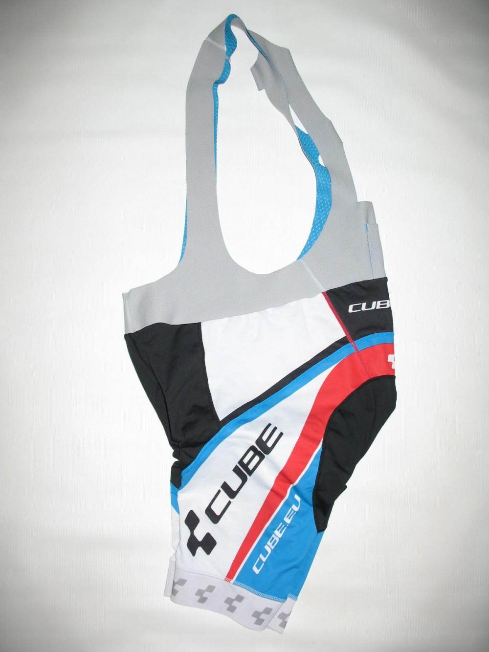 Велошорты CUBE team bib shorts (размер XXL) - 4