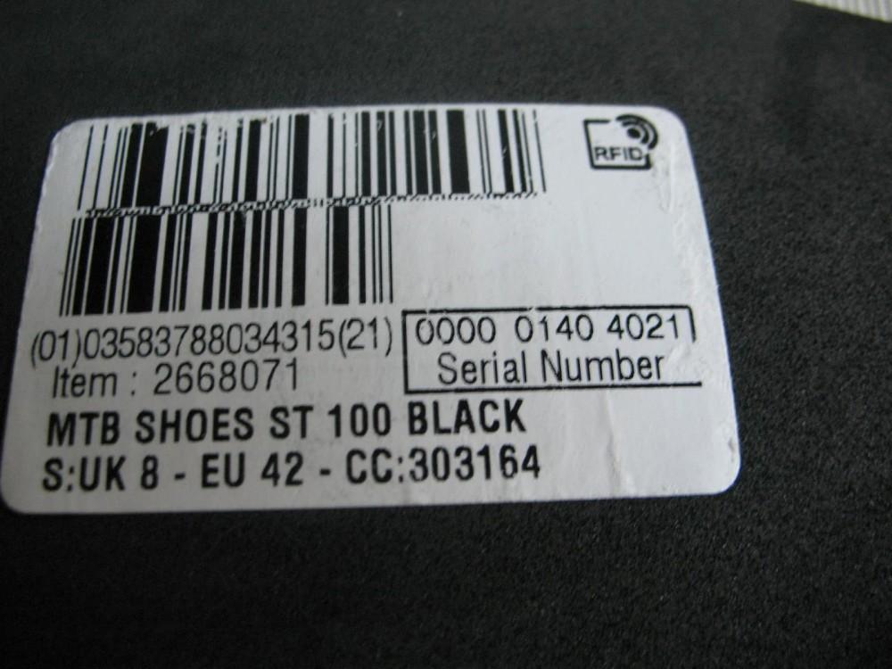 Велотуфли ROCKRAIDER ST 100  mtb shoes (размер EU42(на стопу 265 mm)) - 11