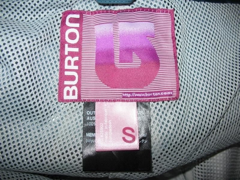 Штаны BURTON snowboard/ski pants lady  (размер S/M) - 8