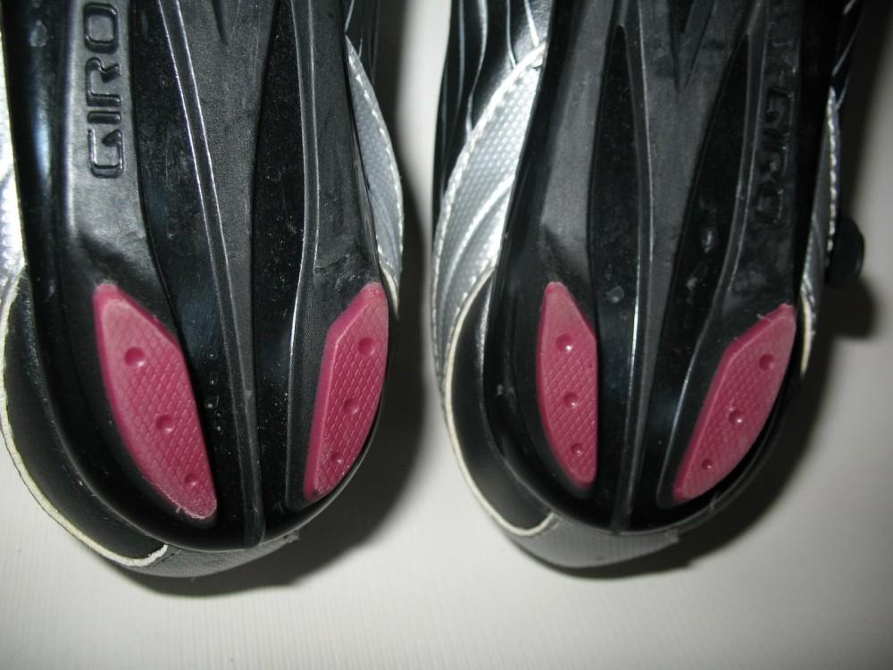 Велотуфли GIRO solara road shoes lady (размер US8/UK6/EU40(на стопу 250 mm)) - 9