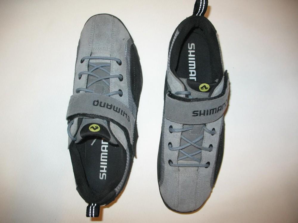 Велотуфли SHIMANO sh-mt 40 MTB shoes (размер US10/EU44(на стопу 278 mm)) - 6