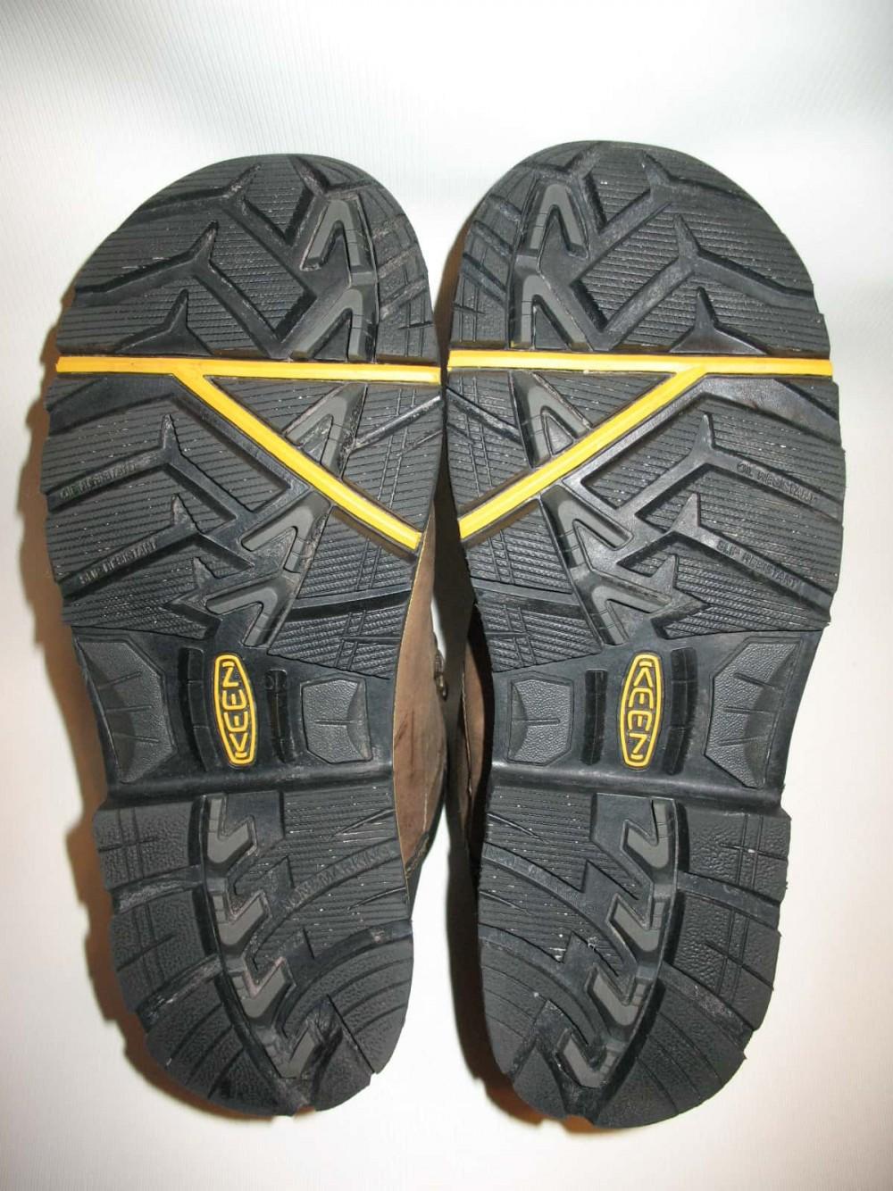 Ботинки KEEN milwaukee waterproof boots (размер US8/UK7/EU41(на стопу 260 mm)) - 9