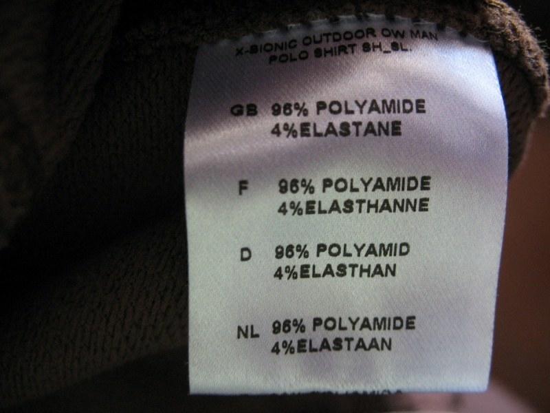 Футболка X-BIONIC outdoor polo shirt 2. 0 (размер L) - 7