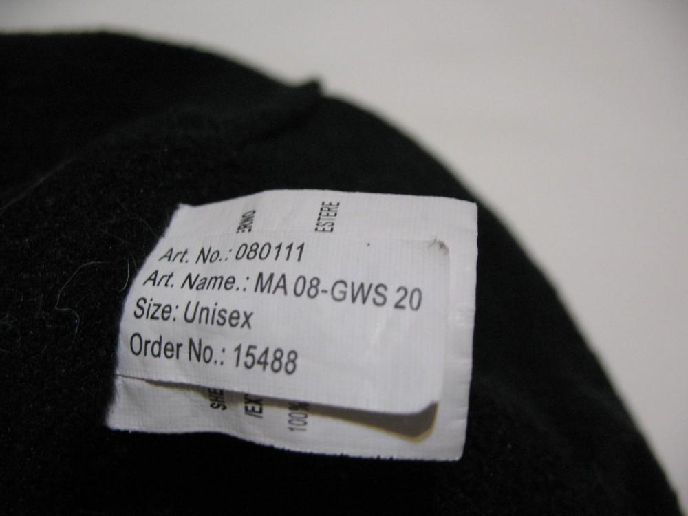 Шапка ZIENER windstopper hat  (размер L/XL) - 1