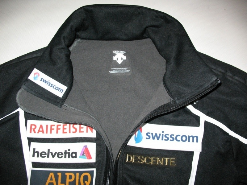 Куртка DESCENTE swissski team softshell B (размер 48/M) - 3