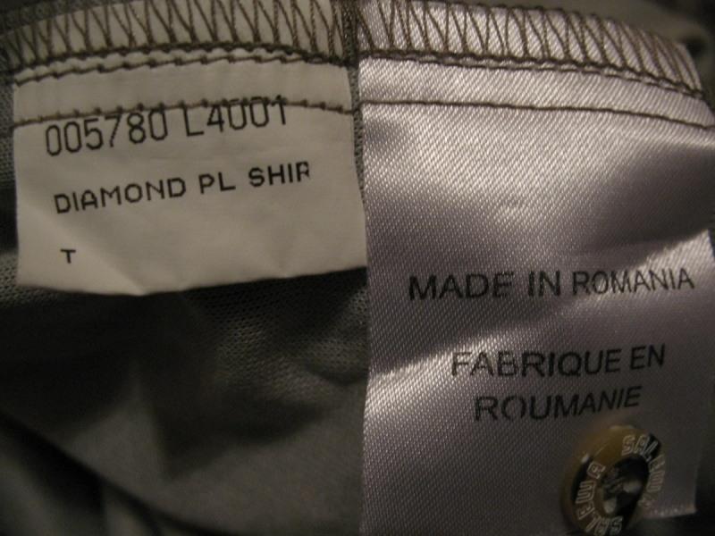 Рубашка SALEWA diamond shirt  (размер M) - 7
