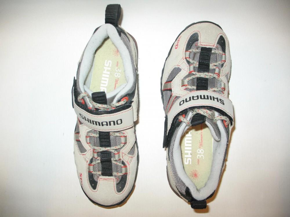 Велотуфли SHIMANO sh-wm 40 mtb shoes lady (размер US6.5/EU38(на стопу 238 mm)) - 5