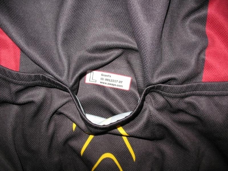 Футболка  OWAYO grant's bike jersey (размер L) - 4