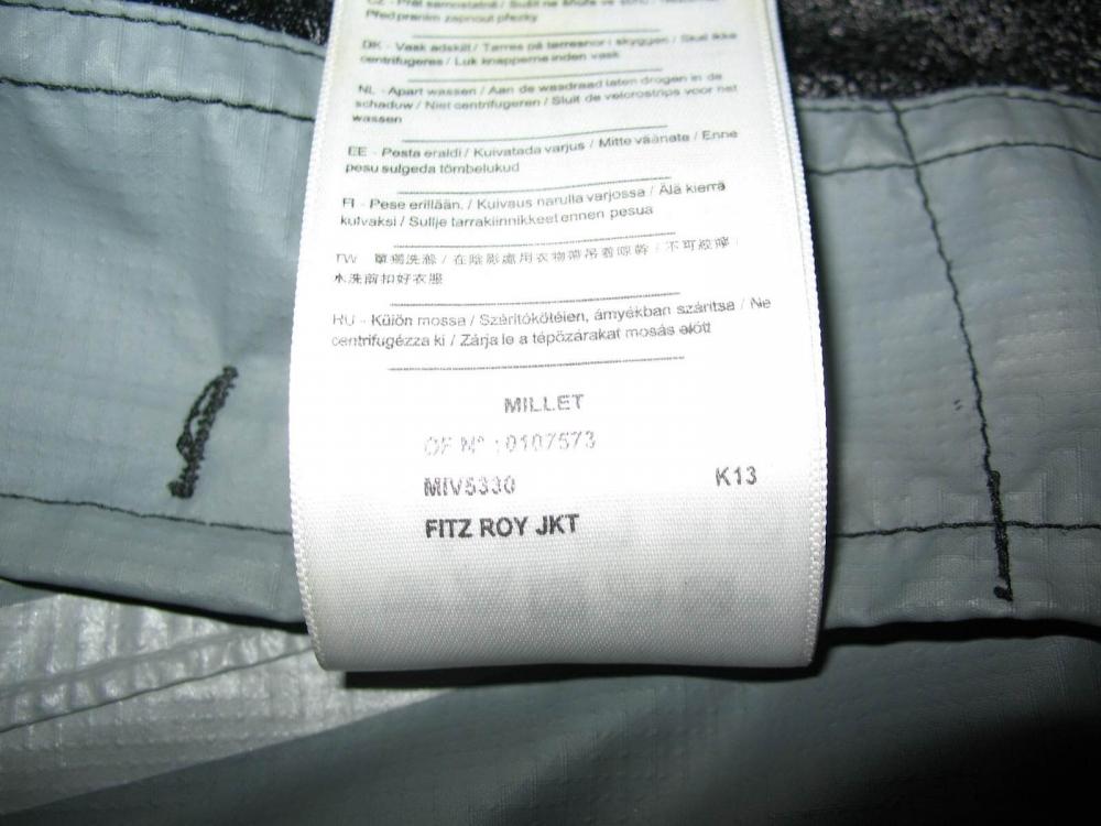 Куртка MILLET Fitz Roy jacket (размер S) - 11
