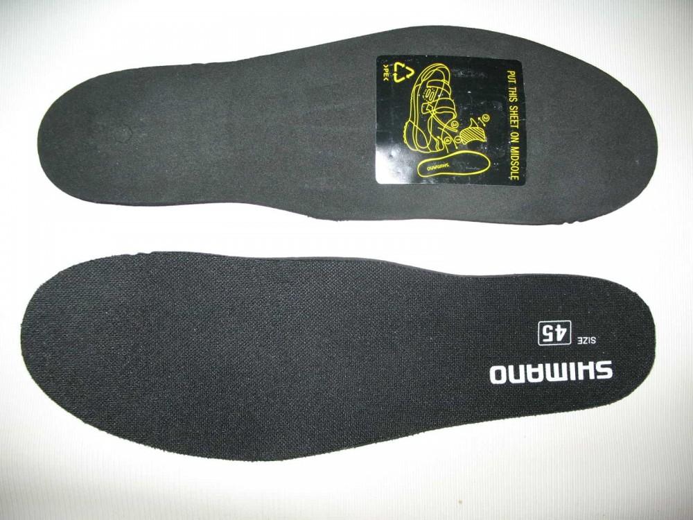 Велотуфли SHIMANO sh-mt32 mtb shoes (размер US10.5/EU45(на стопу до 285 mm)) - 8
