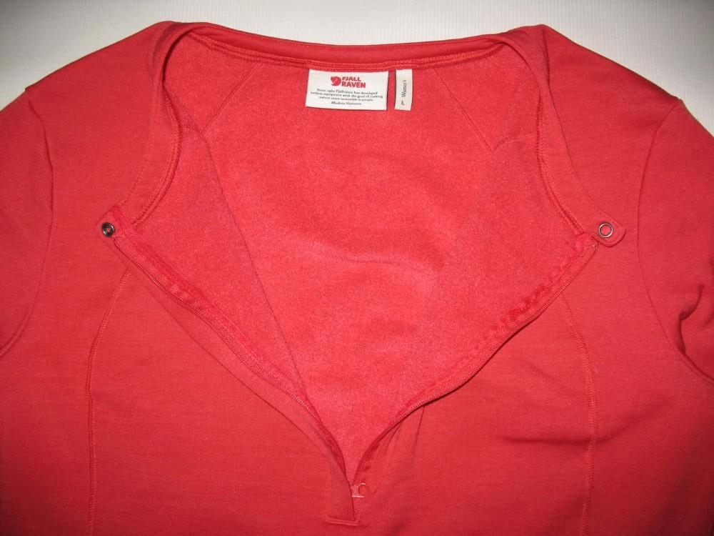 Кофта FJALLRAVEN abisko half zip lady (размер L) - 4