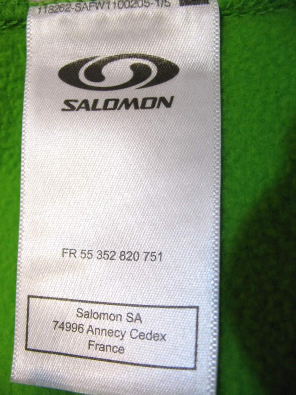 Кофта SALOMON actitherm fleece hoodies (размер XXL) - 8
