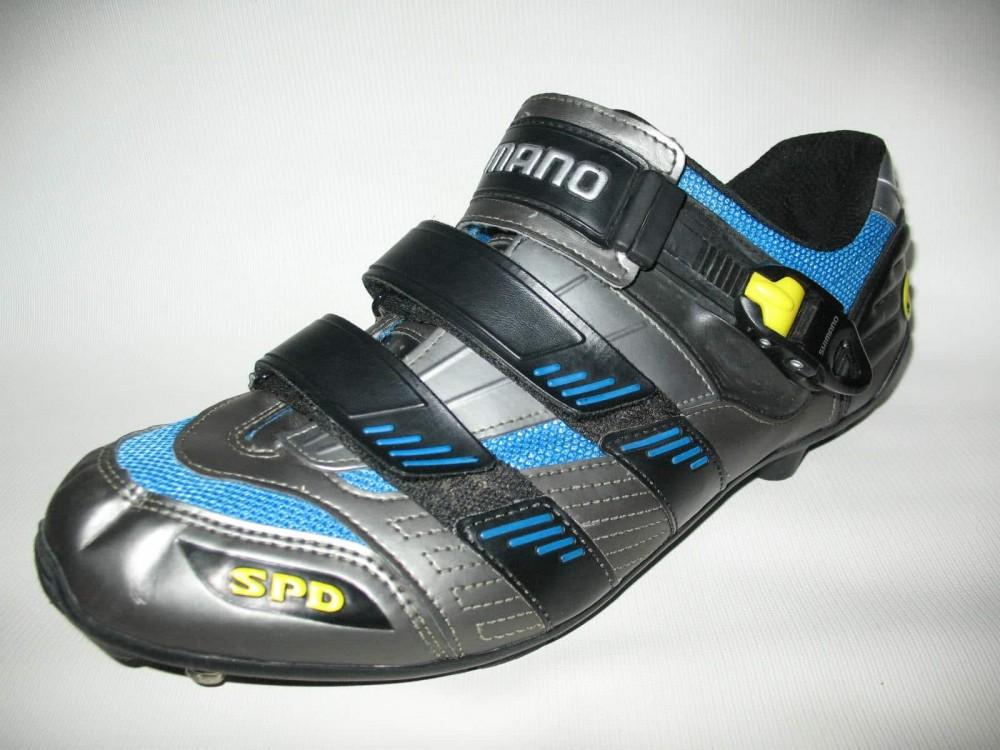 Велотуфли SHIMANO sh-m180g mtb bike shoes (размер UK12,5/EU47(на стопу до 298 mm)) - 2