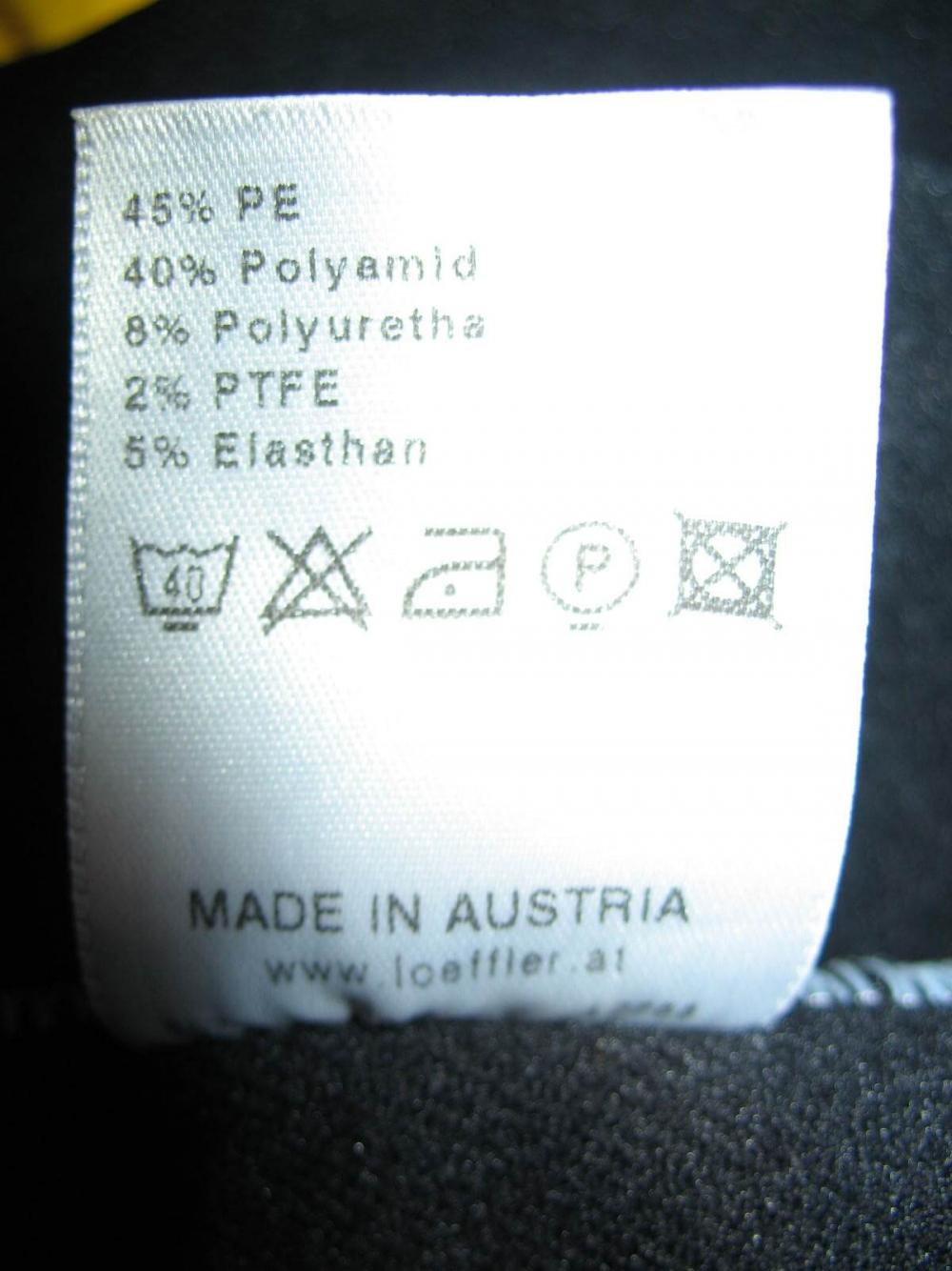 Велокуртка LOFFLER windstopper jacket (размер 50-M/L) - 6