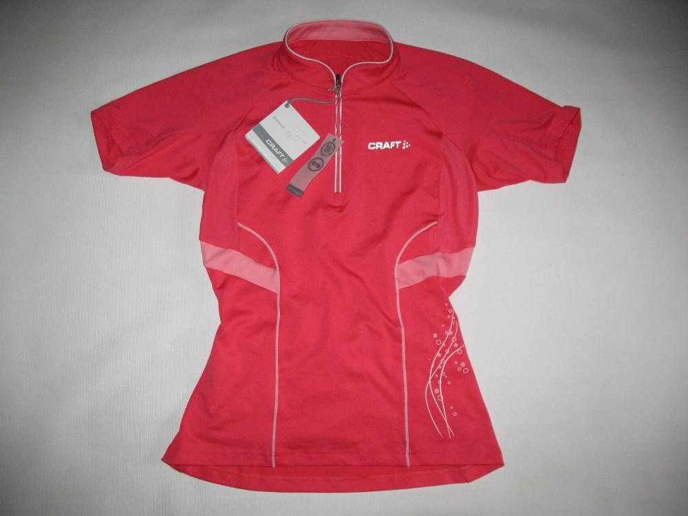 Веломайка CRAFT active bike jersey 1 lady (размер M) - 3