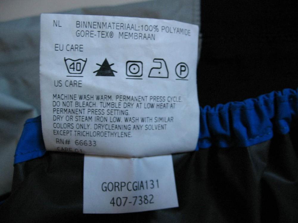 Куртка GORE bike wear GTX packlite cycling jacket (размер M/S) - 9