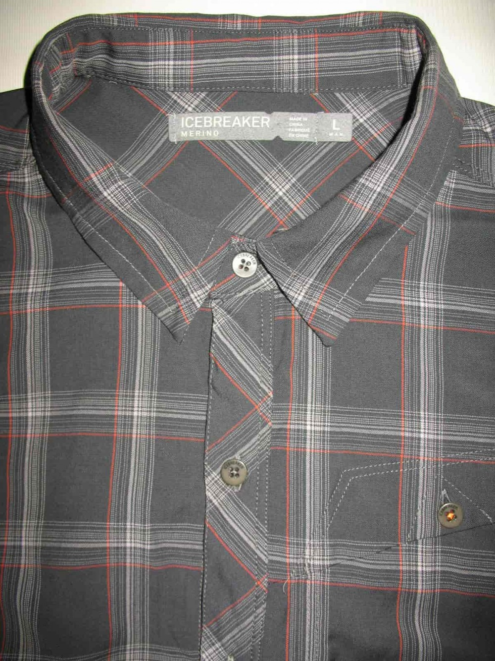 Рубашка ICEBREAKER departure ultralight 150 shirt (размер L) - 4