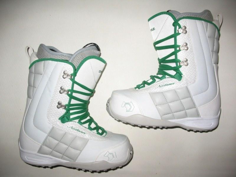 Ботинки  NORTHWAVE Topaz snowboard boots lady  (размер USl8/USм7/EU39(на стопу до 250mm)) - 4
