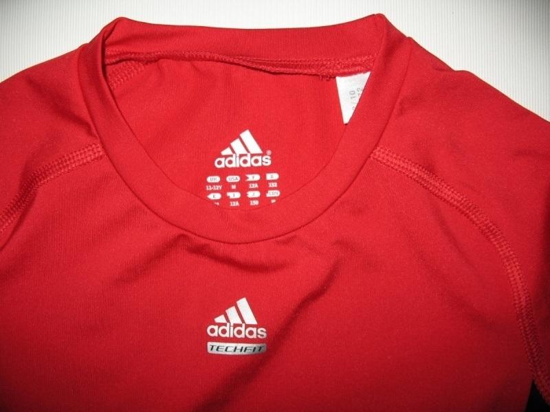 Футболка ADIDAS climalite compression jersey kids (размер на рост +-155 см) - 2