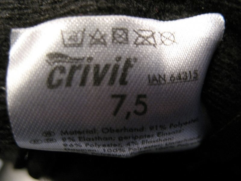 Перчатки CRIVIT windstopper lady (размер 7, 5) - 2