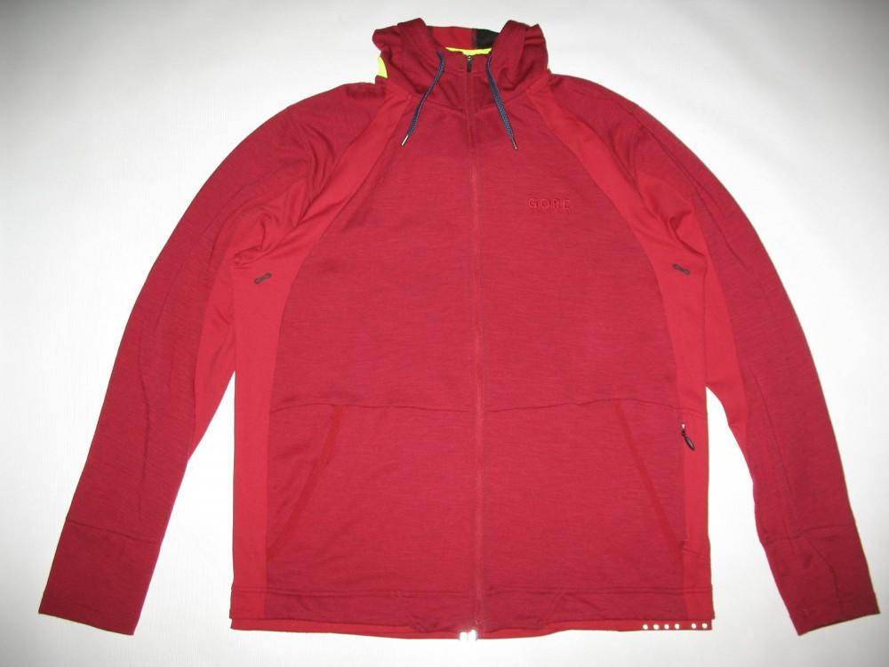Кофта GORE running wear hooded running jacket (размер XXL) - 6