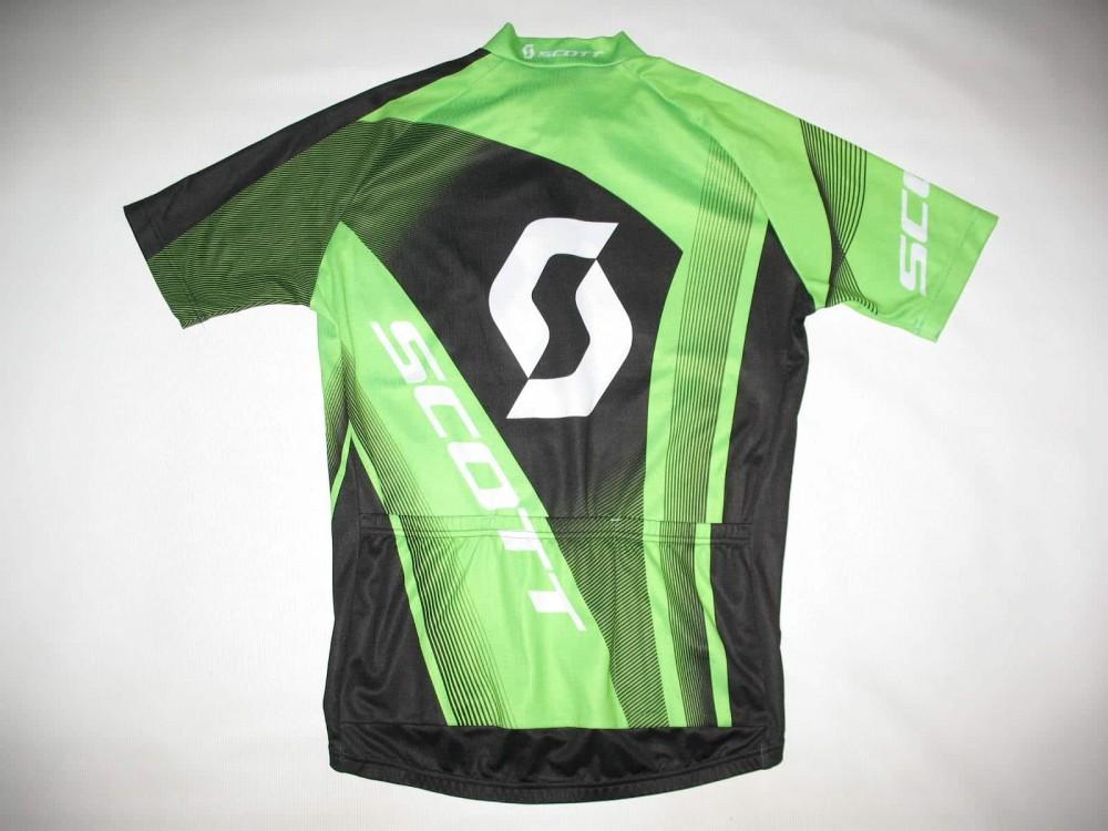 Веломайка SCOTT authentic green cycling jersey (размер M) - 2