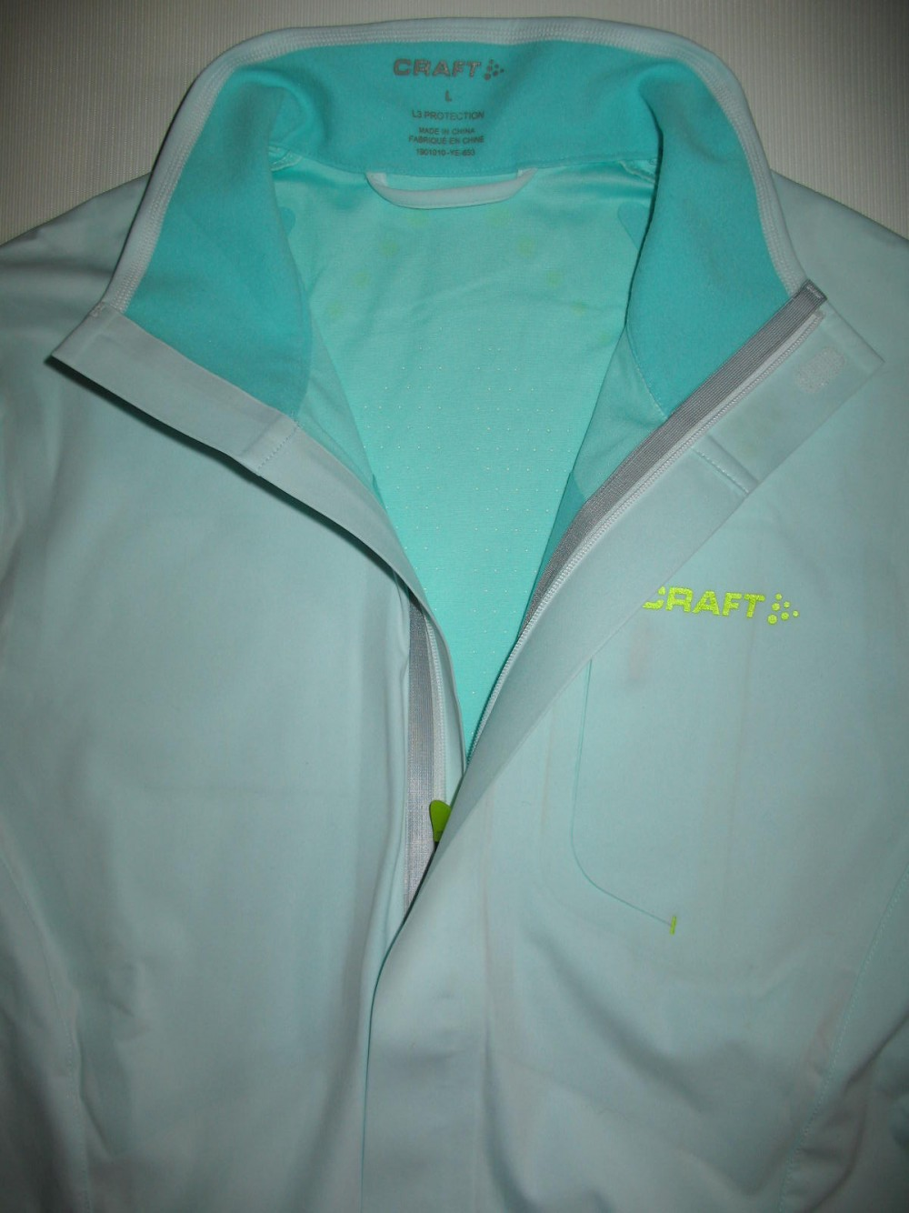 Куртка CRAFT elite run jacket lady (размер L/M) - 7
