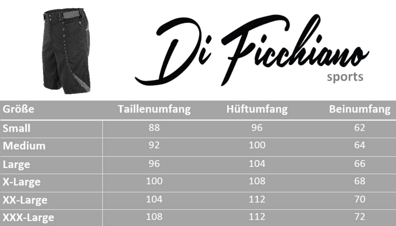 Велошорты DI FICCHIANO lecce MTB shorts (размер XXL) - 11