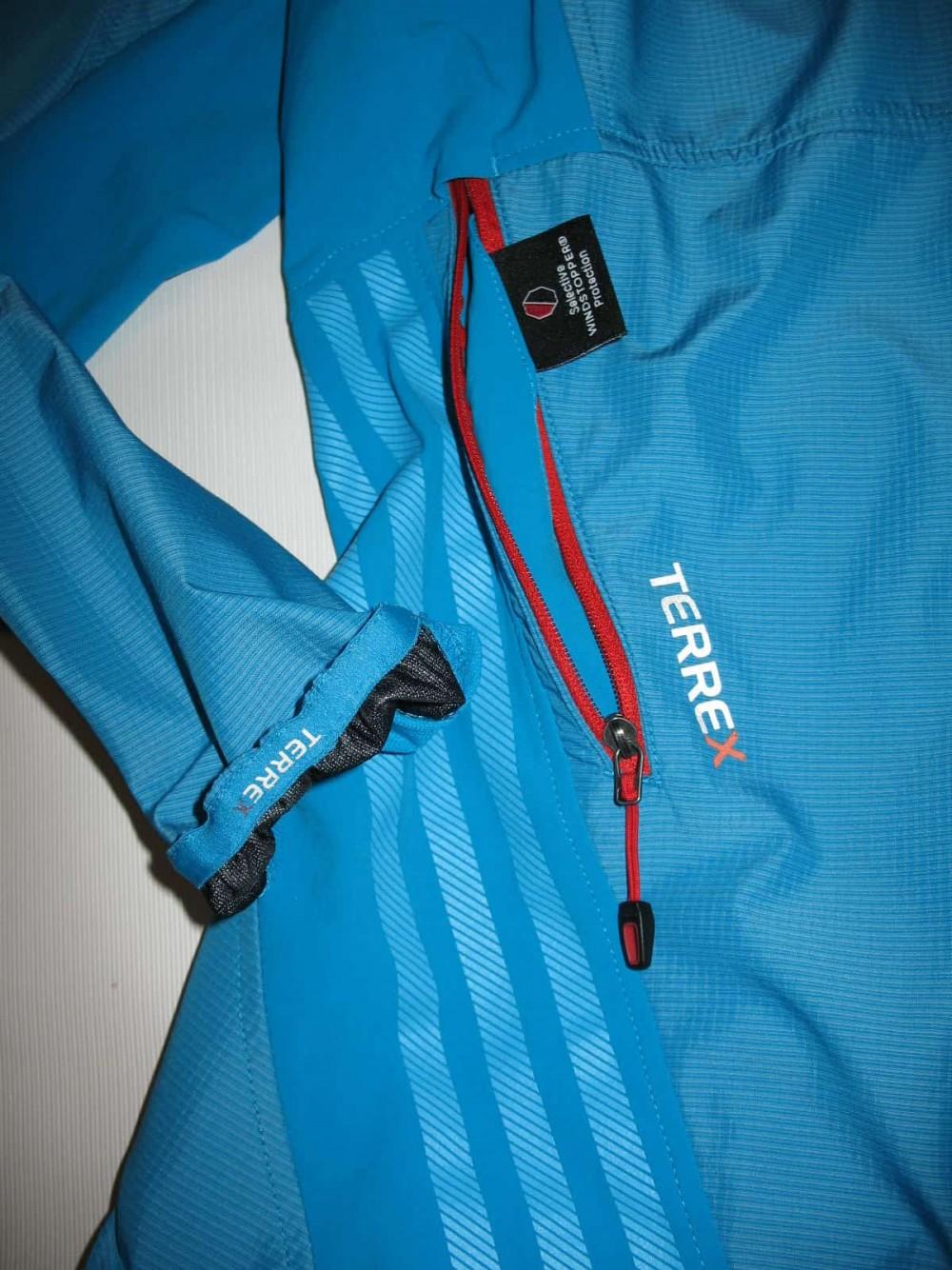 Куртка ADIDAS terrex hybrid windstopper jacket lady (размер 12-L/M) - 6