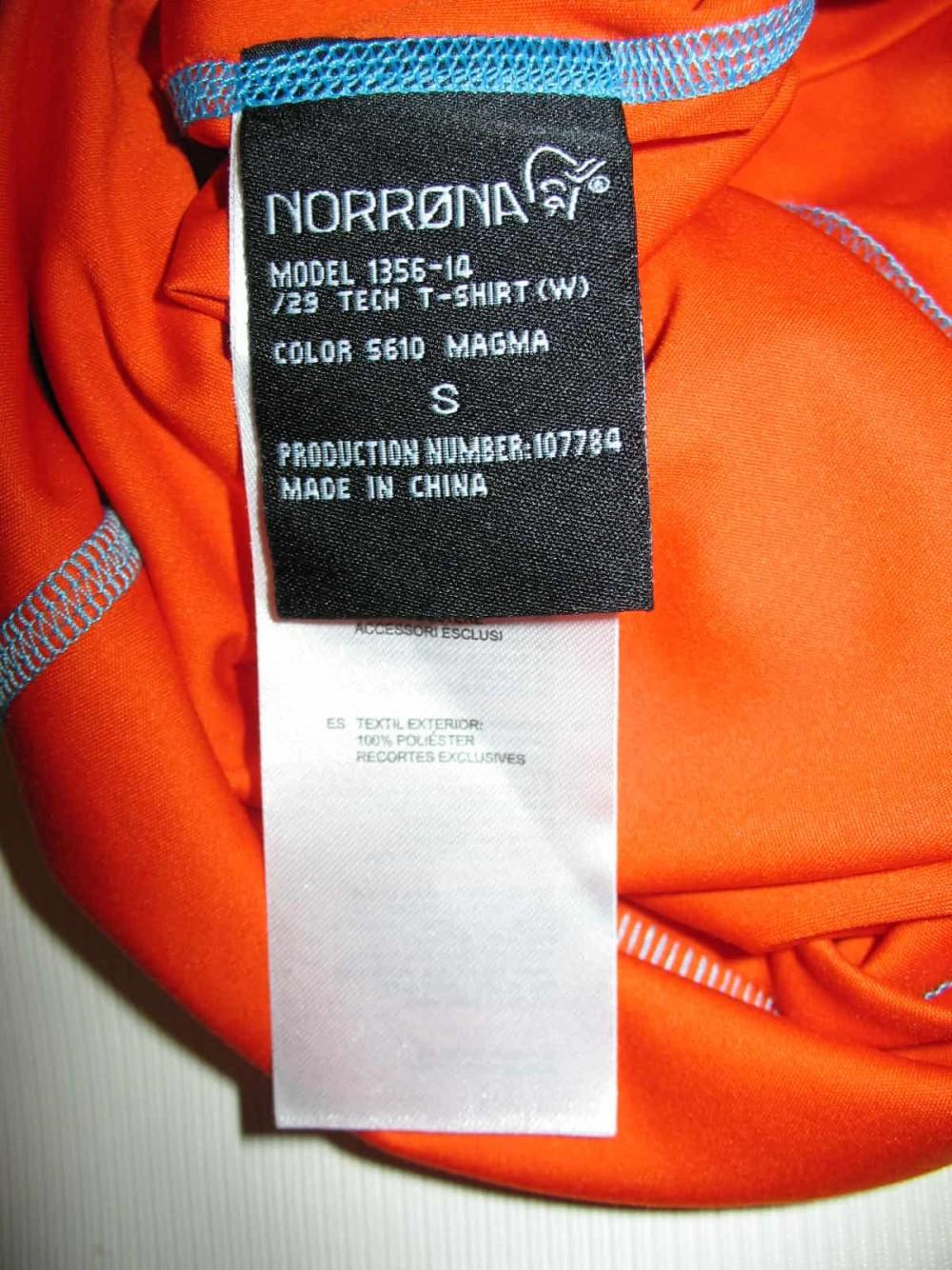 Футболка NORRONA 29 tech t-shirt lady (размер S) - 3