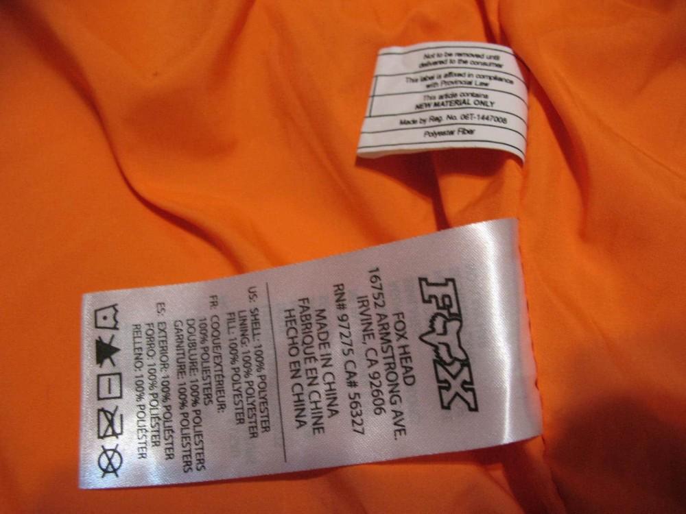 Куртка FOX beeks jacket (размер S/M) - 11