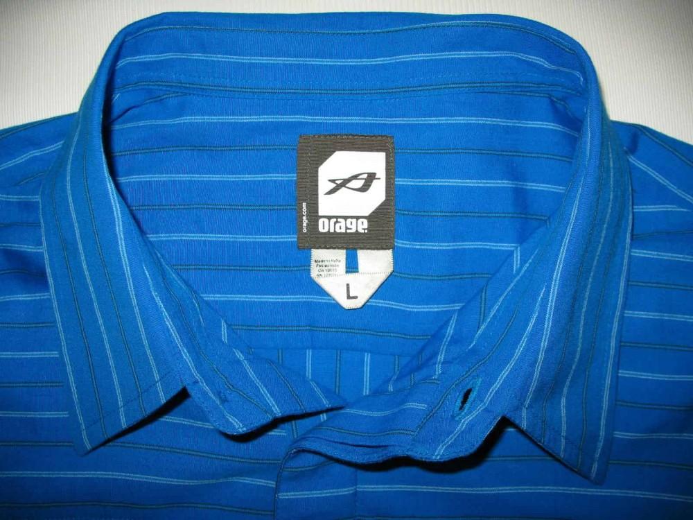 Рубашка ORAGE cotton shirt (размер L) - 1