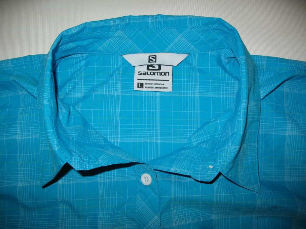 Рубашка SALOMON outdoor  ss shirt lady (размер L) - 2