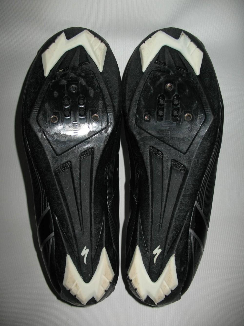 Велотуфли SPECIALIZED sport road black shoes (размер US11/UK10/EU44(на стопу до 283 mm)) - 6