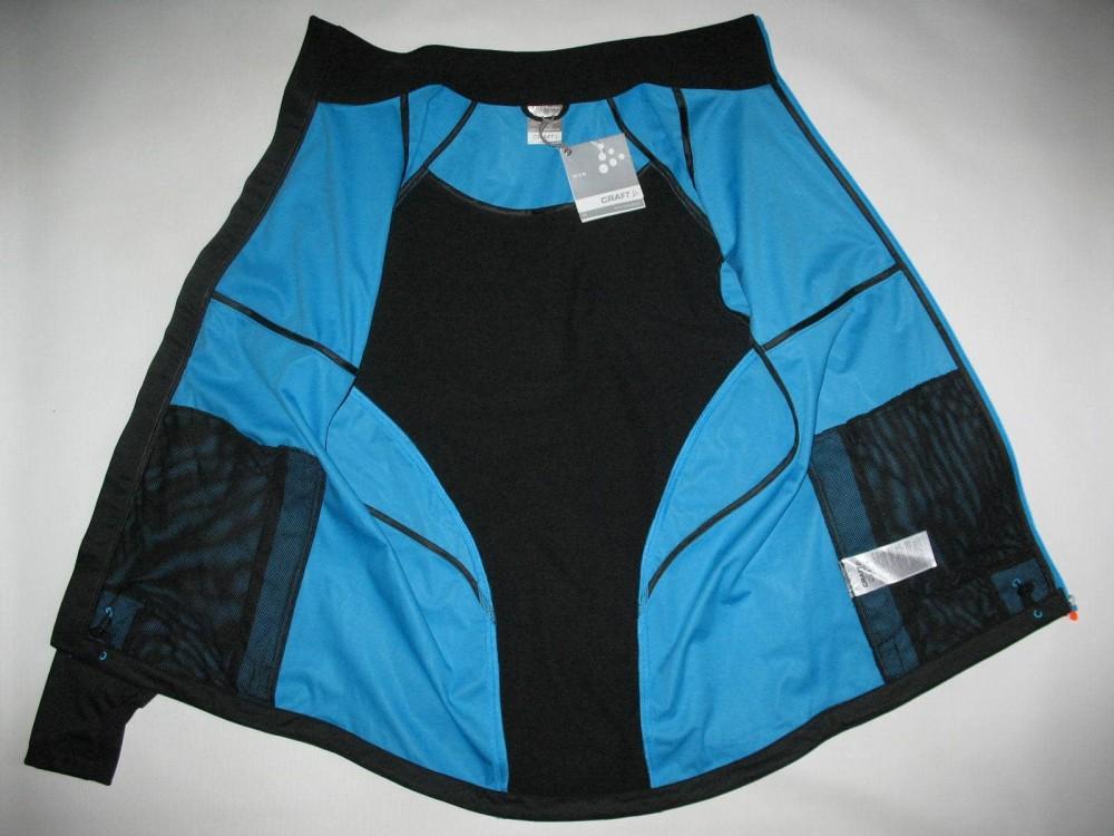 Куртка CRAFT pxc light softshell black jacket (размер M) - 4