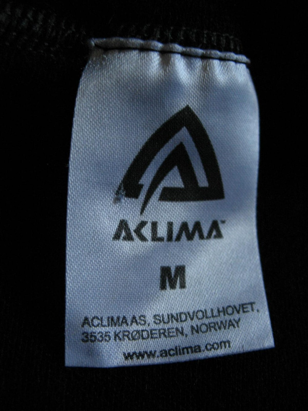 Кофта ACLIMA warm wool crew neck jersey (размер М) - 4