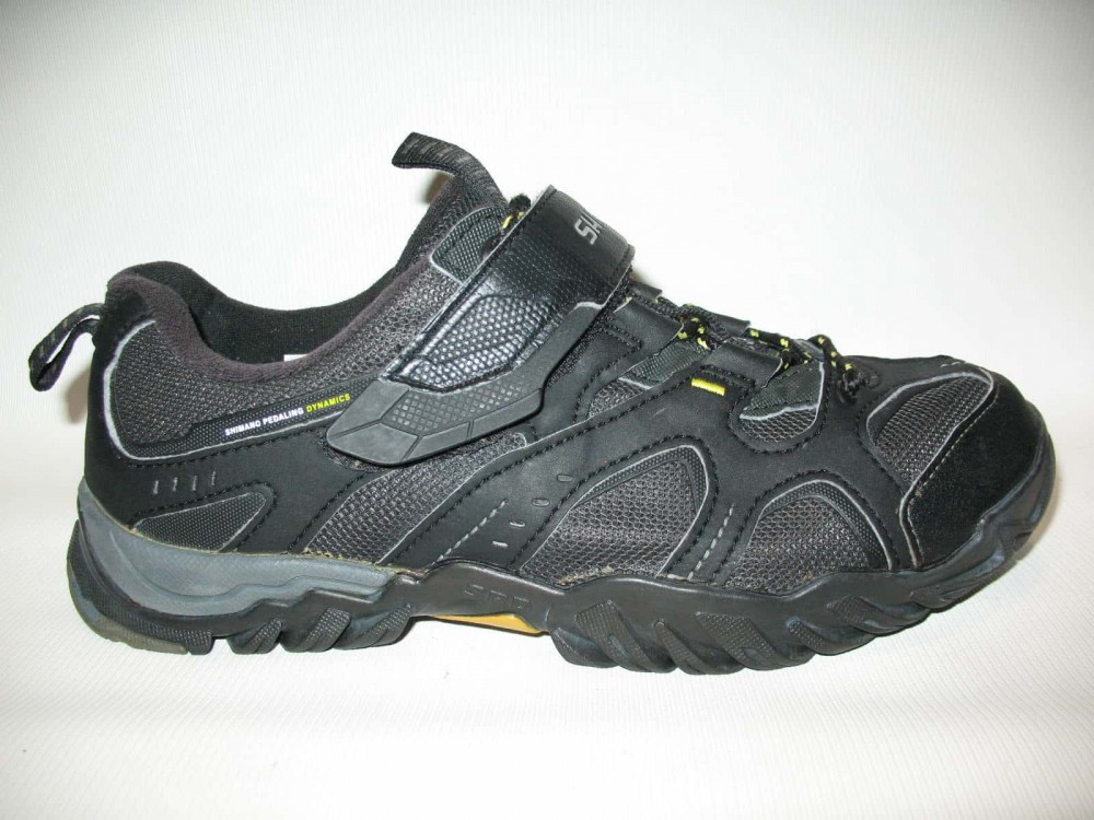 Велотуфли SHIMANO sh-mt43 mtb shoes (размер US8,3/EU42(на стопу до 265 mm)) - 1