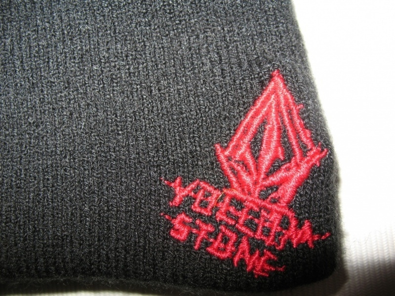 Шапка VOLCOM fear face mask beanie hat   (размер one) - 3