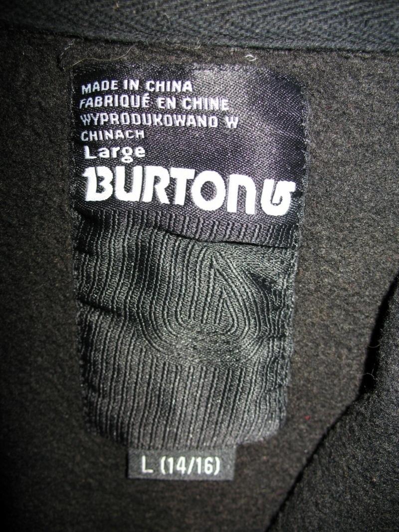 Кофта BURTON hoodies unisex  (размерXS/S ) - 4